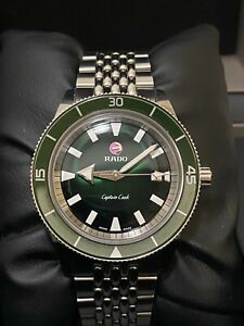 RADO Captain Cook Green Automatic Watch