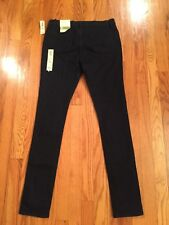 NWT Old Navy Girls SZ 16 Super Skinny 'Famous' Dark Wash Jeans ADJ WAIST