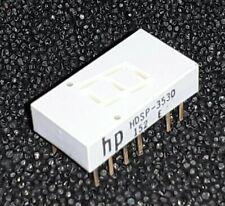 4 pcs. LED 7Segm. Display HP HDSP-3530 High Efficiency Red 7.6 mm Common Anode