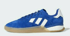 Adidas Originals Skateboarding 3ST.004 Blue Nubuck & White Stripes (UK11) BNIBWT
