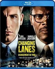 NEW BLU RAY - CHANGING LANES - Ben Affleck, Samuel L. Jackson, Toni Collette, Sy