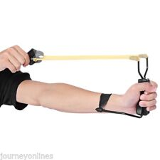 Foldable Powerful Slingshot Rubber Bands Wrist Catapult Hunting Equipment
