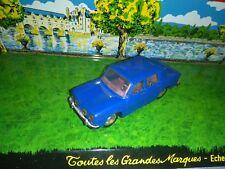 NOREV FRANCE 1/43 RENAULT R8 BLEU MARINE SUPERBE