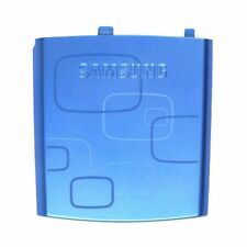 GENUINE Samsung Blackjack 2 II SGH-i617 BATTERY COVER Door BLUE GRAPHIC design