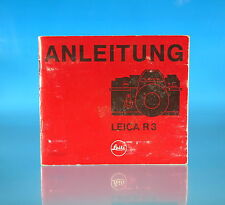 Leica R 3 Anleitung german instructions - (1553)