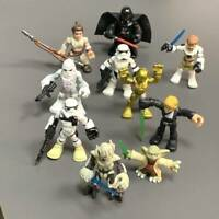 Lot 10x Star Wars Playskool Galactic Heroes Jedi Force trooper Figures boy Toys