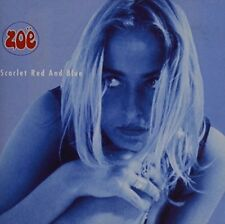 Zoe Scarlet Red and Blue (1991) CD []