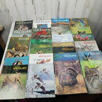 Vintage National Wildlife Magazines 1971 - 1982 Animals Birds Lot of 26