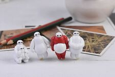 4 Pcs Miniature Big Hero 6 Action Toy Figures Set (USA SELLER FAST SHIPPING)