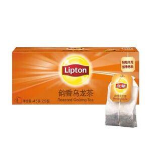 Lipton Roasted Oolong Tea Bag x 1 Box (25 bags) Weight 45g (2gx25) Free Shipping