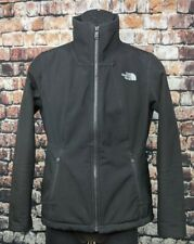 The North Face Apex Chromium Thermal Windwall Softshell Jacket Black Women Small