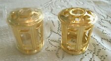 2 Catalytic Fragrance Burner Decorative Crown/Top-Gold-Fits Lampe Berger & Other