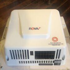 Nova 1 0830 Economical Automatic Hand Dryer White Aluminum Cover, Hard Wire