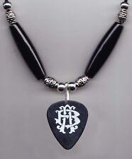 Nickelback Black Guitar Pick Necklace 2012 Tour