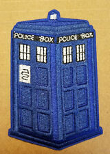 Doctor Who Tardis Blue Police Box Patch 4 inches tall