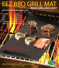 BBQ GRILL MAT - As Seen On TV!   Make Grilling Easy! (2 Mats Per Pack)