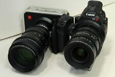 Cinematics sigma 18-35 canon ef & 50-100 canon ef set for sony c300 raven ursa