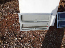 "RV Trailer Shed Window, Awning, Safety Glass, 30""X18 3/8"".  Alum Frame, New, #9"