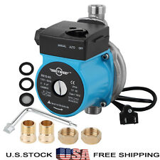 110V Automatic Booster Pump 3/4'' Hot Water Circulation Pump,Stainless Steel
