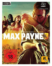 Max Payne 3 Steam Key Pc Game Code Download Spiel Global [Blitzversand]
