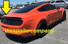 "FOR FORD MUSTANG COUPE PRE-Painted ""Racing Style"" Rear Spoiler Wing 2015-2018"