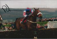 Richard JOHNSON SIGNED Jockey 12x8 Photo AFTAL COA Autograph Champion Hurdle