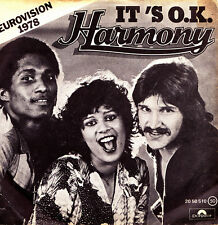 Harmony (Eurovision 1978) - It is O.K. + BIM BAM BOM single vinilo 1978 Spain