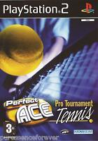 PERFECT ACE PRO TOURNAMENT TENNIS (PAL PlayStation 2 Game)