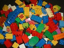Hammerpreis - LEGO DUPLO - 80 bunte Bausteine - 4 Noppen, 8 Noppen - gebraucht!!