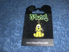 Disney Cuties Character Series Pluto With Bone Sparkly Dangle Pin