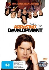 Arrested Development: Season 1 (DVD 3-Discs) Region 4 - Very Good Condition