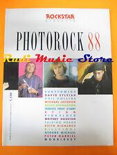 rivista ROCKSTAR 99 /1988 Photorock 88 sting Michael Jackson Springsteen  No cd