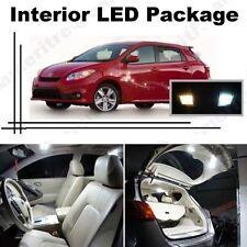 White LED Lights Interior Package Kit for Toyota Matrix 2009-2013 ( 6 Pcs )