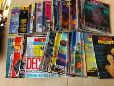 lot 52 magazines METAL HURLANT n°4 + parmi 52 à 115 - années 80