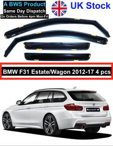 BMW 3 series F31 5 doors estate/wagon 2012-17 wind deflectors 4pc UK Stock