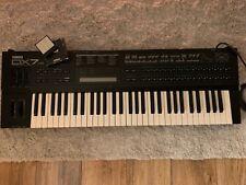 Yamaha DX7 II-D Keyboard Synthesizer - die Legende - inkl. Data Cardridge RAM4