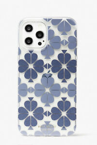 New Kate Spade spade floral  iphone 12 pro max case blue Gift