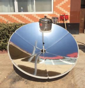 Solar schüssel Grill Kocher