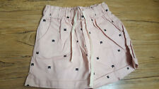 Cat Print Shorts, cute shorts, children's clothing, summer clothing
