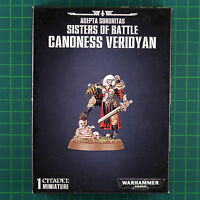 Adepta Sororitas Sisters of Battle Canoness Veridyan Warhammer 40K 52-59
