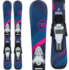 ROSSIGNOL EXPERIENCE PRO W CHILDREN'S SKIS W/TEAM 4 BINDINGS 2020 new 100%