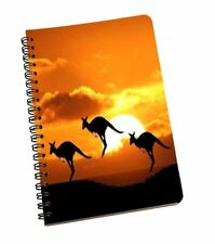 A5 Sheet Diary 120 Page Nature Printed Notebook Wire Bound Paper Sheet