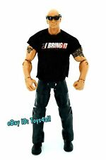 the ROCK - WWE Mattel Elite TRU BOPPV Wrestlemania XXVII Wrestling FIGURE_s28