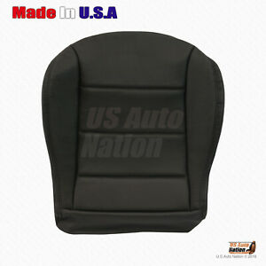 1999 - 2004 Volkswagen Jetta Driver Bottom Replacement Leather Seat Cover Black