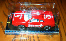 "RIGHTEOUS RACERS Red Ferrari ""My Lifeguard Walks on Water""  Mint in box"