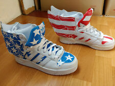 Adidas Jeremy Scott Wings 2.0 US FLAG Stars and Stripes sneakers JS shoes V24619