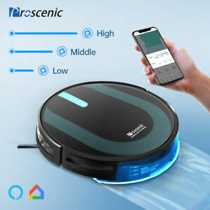Alexa Automatic Robot Vacuum Mopping Robotic Cleaner 3000Pa App Map Navigation