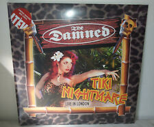 2 LP THE DAMNED - TIKI NIGHTMARE - RED - NUOVO NEW