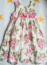 Monsoon Girls Dress Floral Size 4-5 Years
