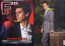 F*** Movie Mag Singapore Asia ANDREW GARFIELD Spiderman Josh Hutcherson